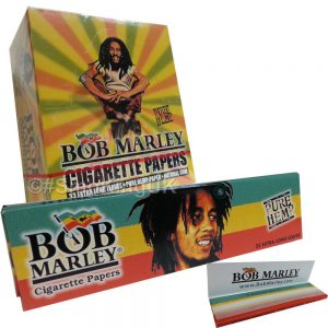 Smoking Bob Marley Kingsize Papers 50pcs
