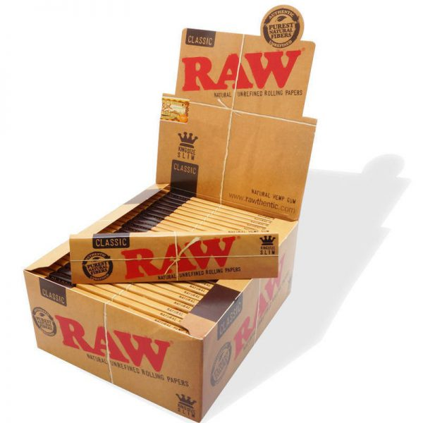 RAW King size slim pack50
