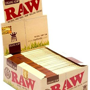 Raw Organic Hemp KS Slim_Pack50