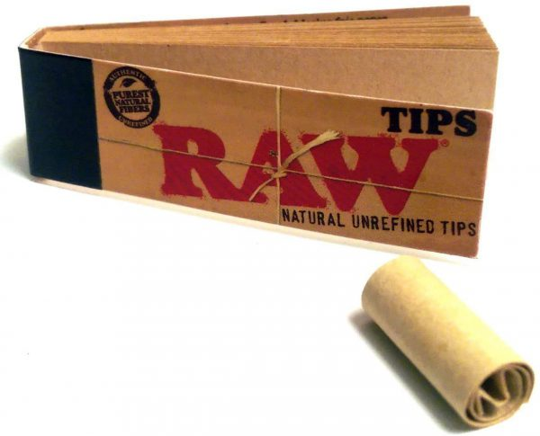 Raw Rolling Paper Filter Tip 1